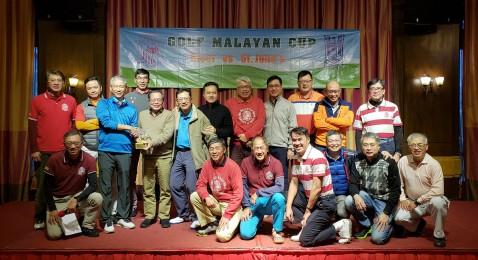 Golf Malayan Cup SJCAA vs Ricci Alumni