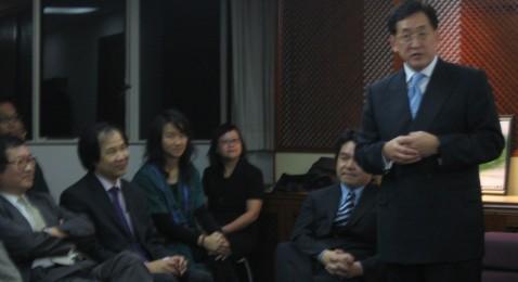 High Table Talk by Dr. York Chow