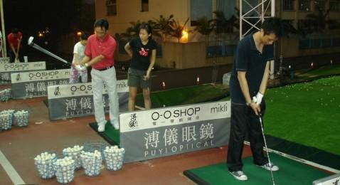 Progress of Golf Beginners (3rd class)