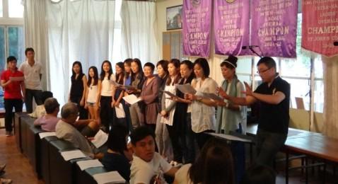 1st Centennial Choir Rehearsal